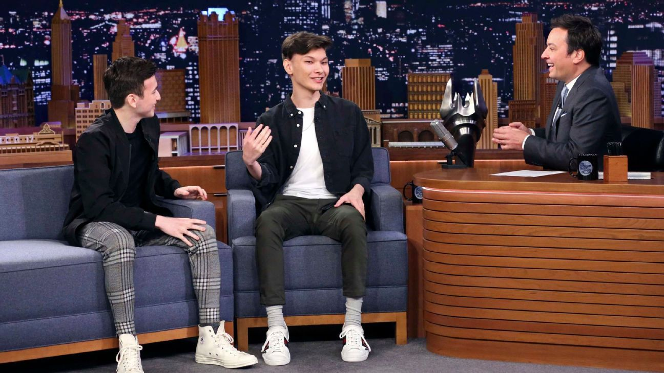 Overwatch League's Sinatraa, Super appear on 'The Tonight Show'
