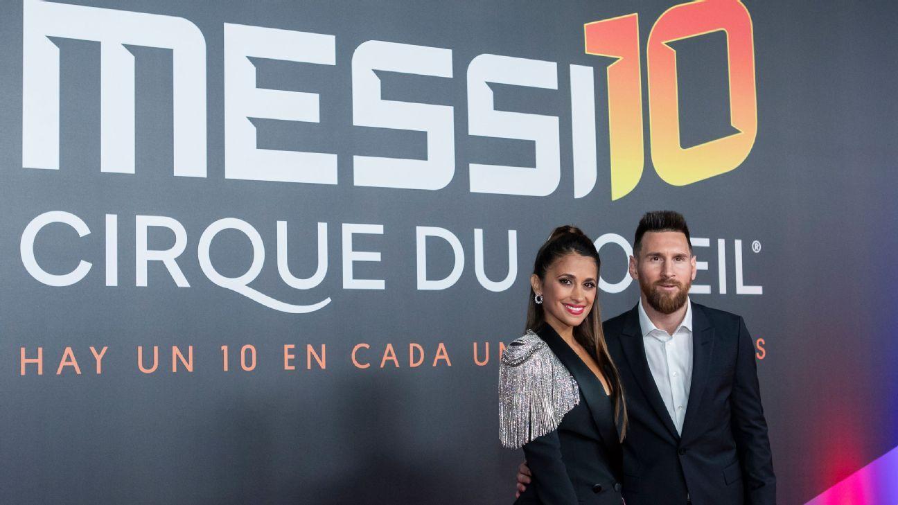 Toe Poke Daily: Lionel Messi attends Cirque du Soleil premiere in Barcelona