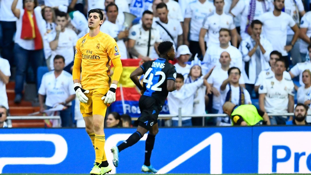 Real Madrid's Thibaut Courtois slams 'disrespectful' anxiety reports