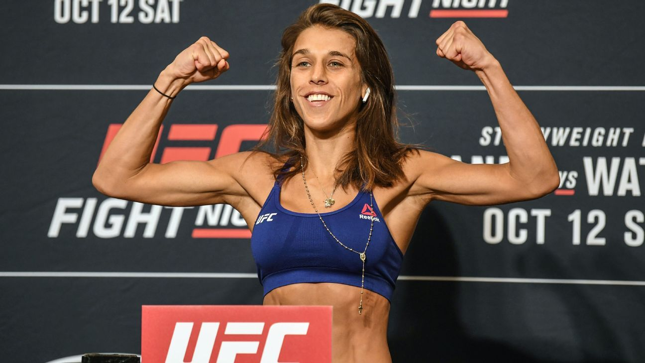 Joanna Jedrzejczyk makes weight for Michelle Waterson bout