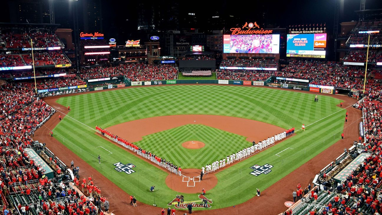 St. Louis Cardinals claim baseballs are traveling less in postseason