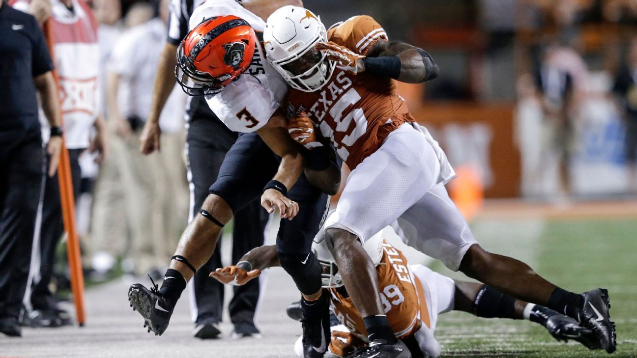 Texas loses two more starters to injury in loss