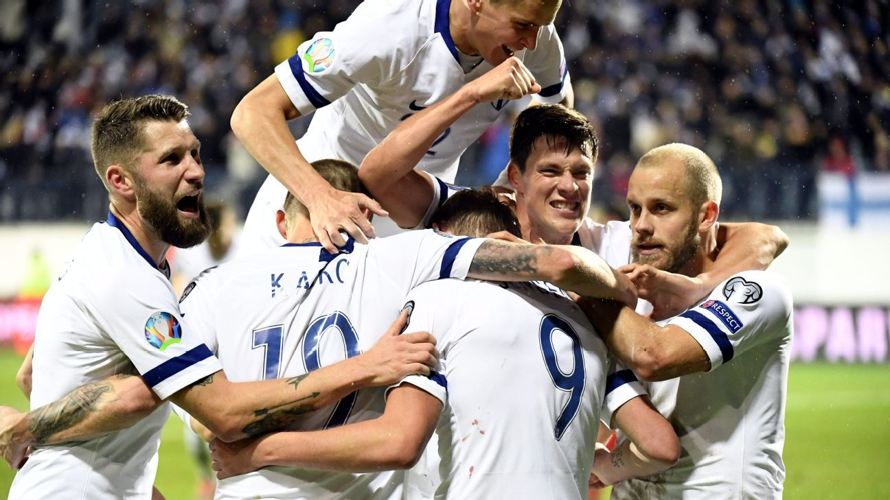 Pukki brace puts Finland on brink of historic Euro qualification with win over Armenia