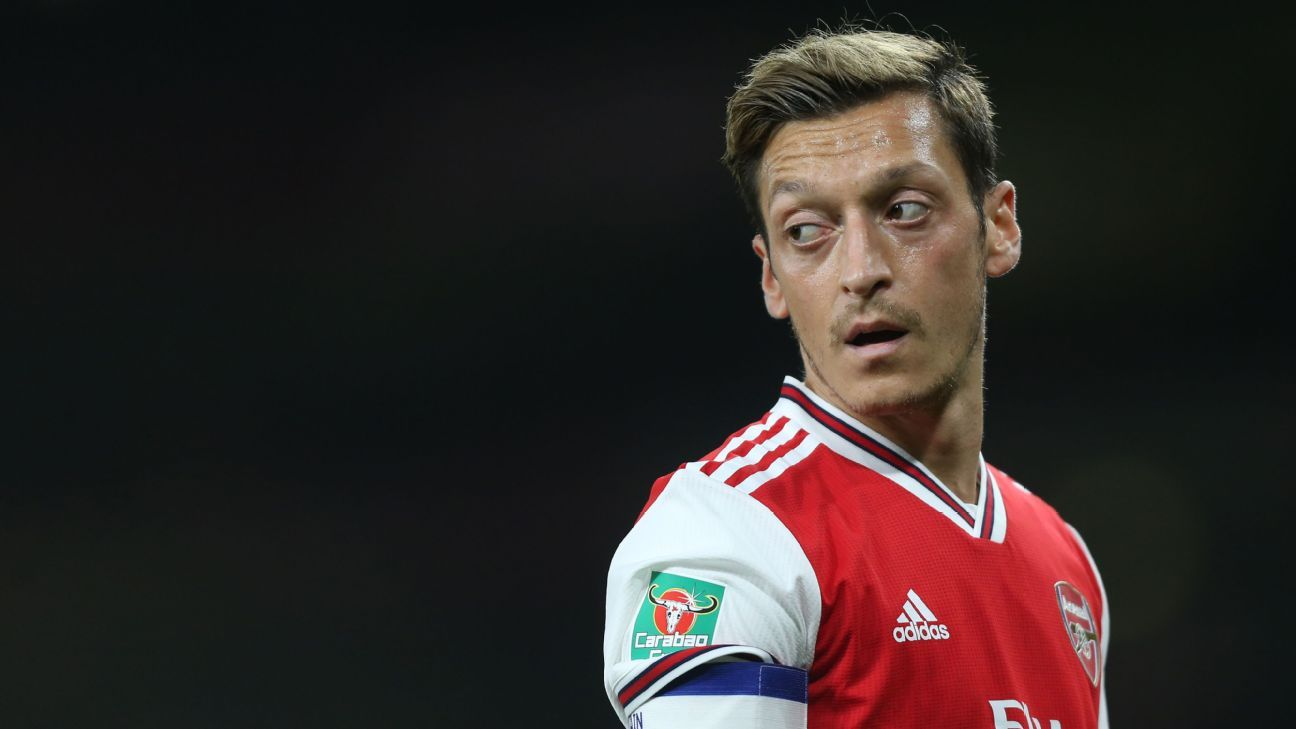 Arsenal's Mesut Ozil: It's always my fault if we don't do well