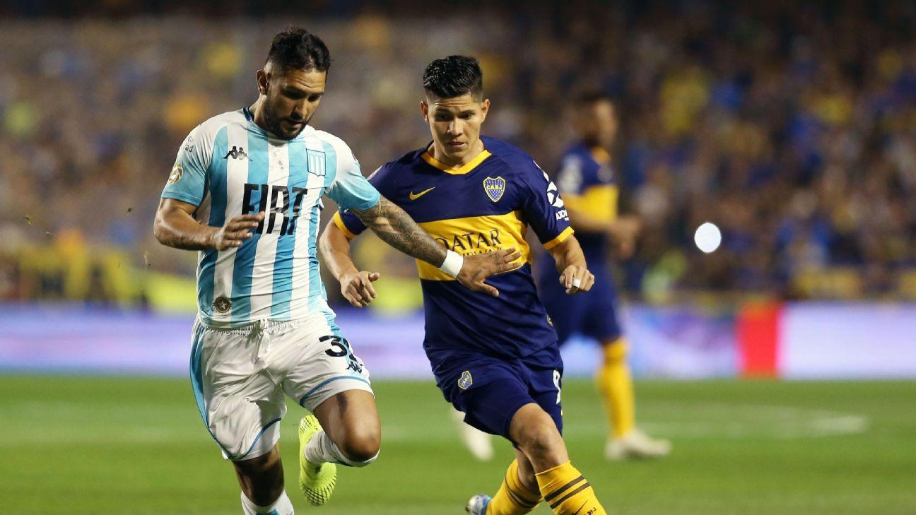 Boca Juniors vs. Racing Club - Reporte del Partido - 18 octubre, 2019 - ESPN