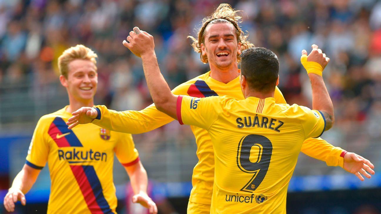 Eibar vs. Barcelona - Football Match Report - October 19 ...