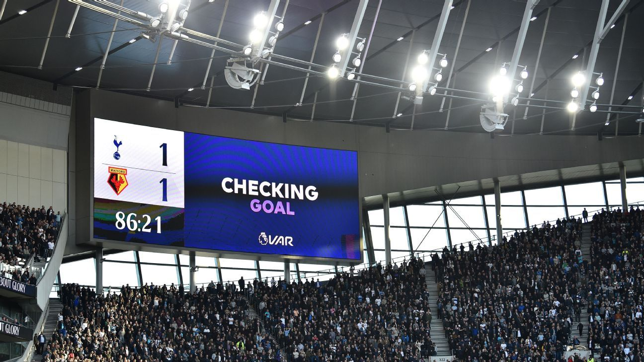 VAR company apologises for confusion on calls in Spurs-Watford draw