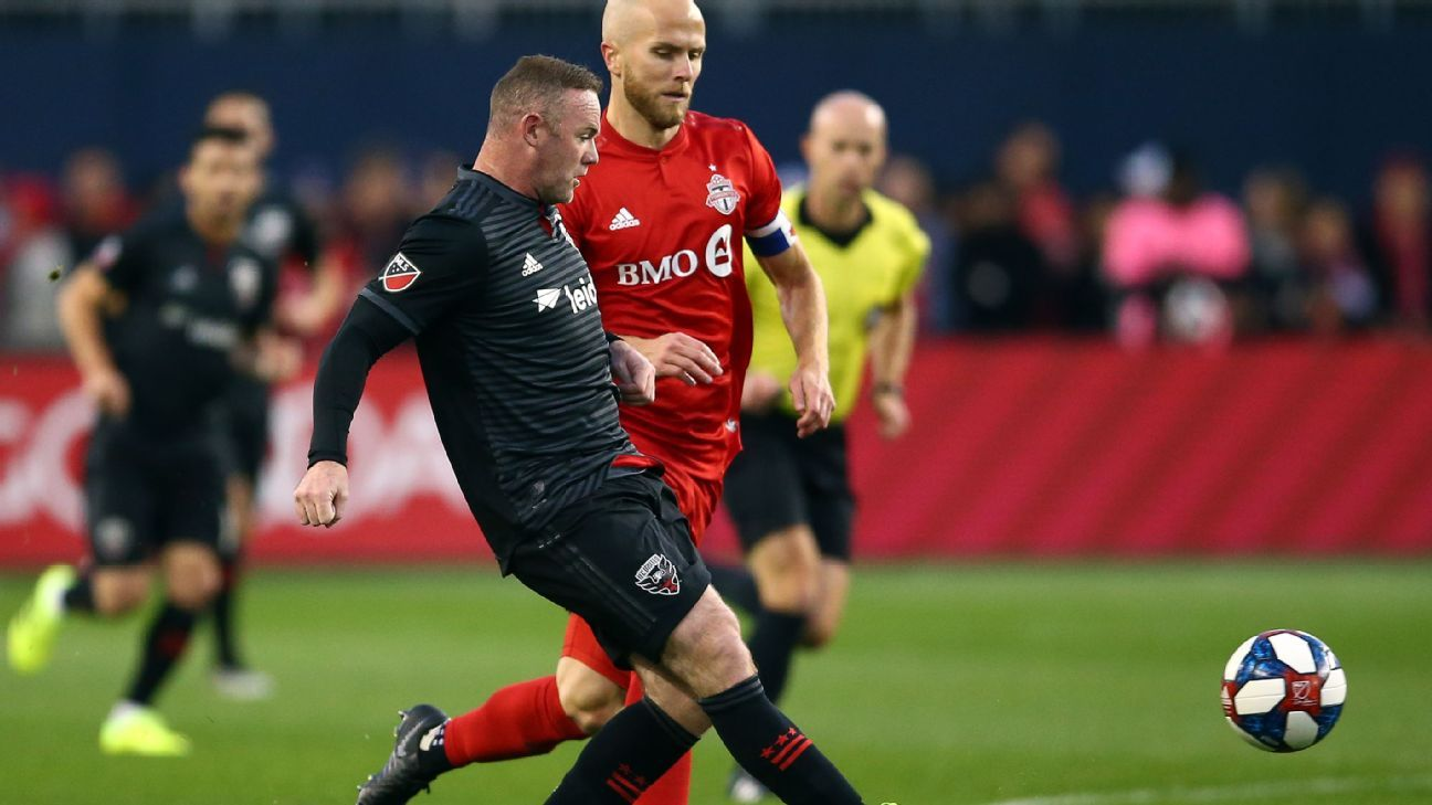 Toronto oust D.C. United as Wayne Rooney's MLS career ends