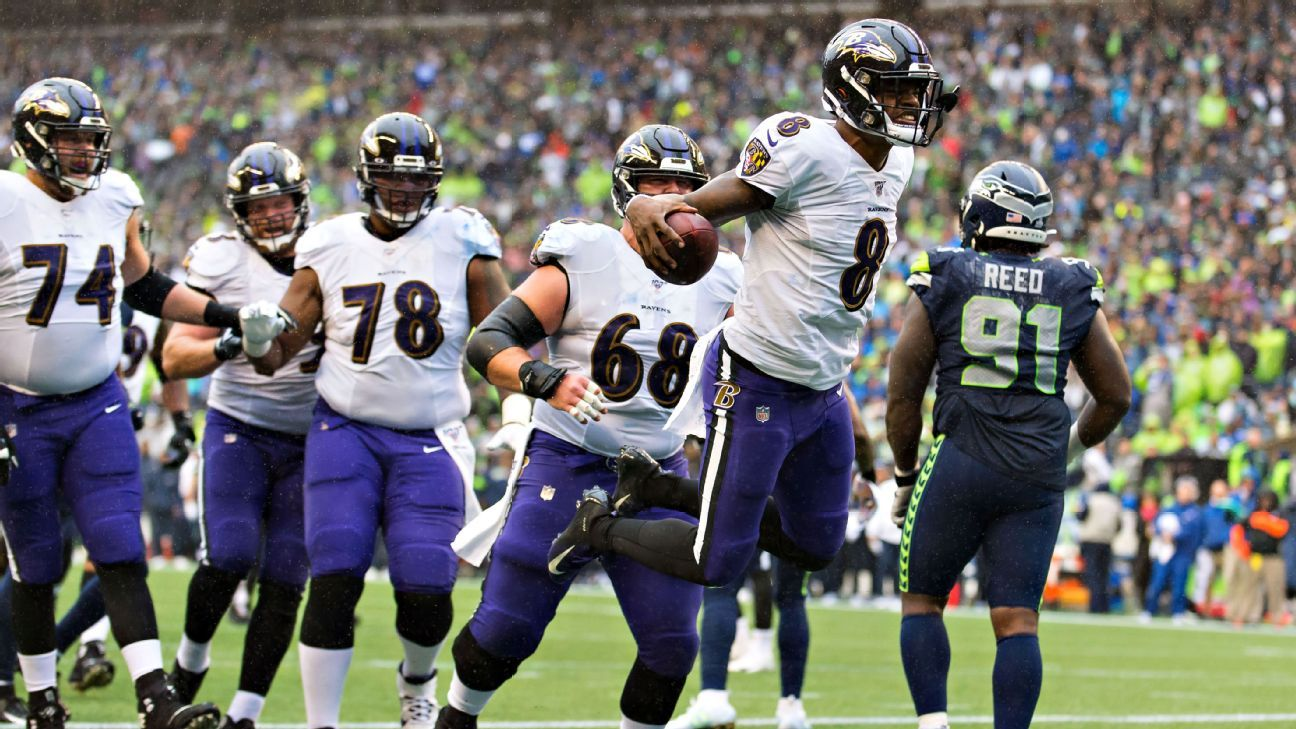 Call them contenders: After rolling Seattle, Lamar Jackson and Ravens look like an elite team