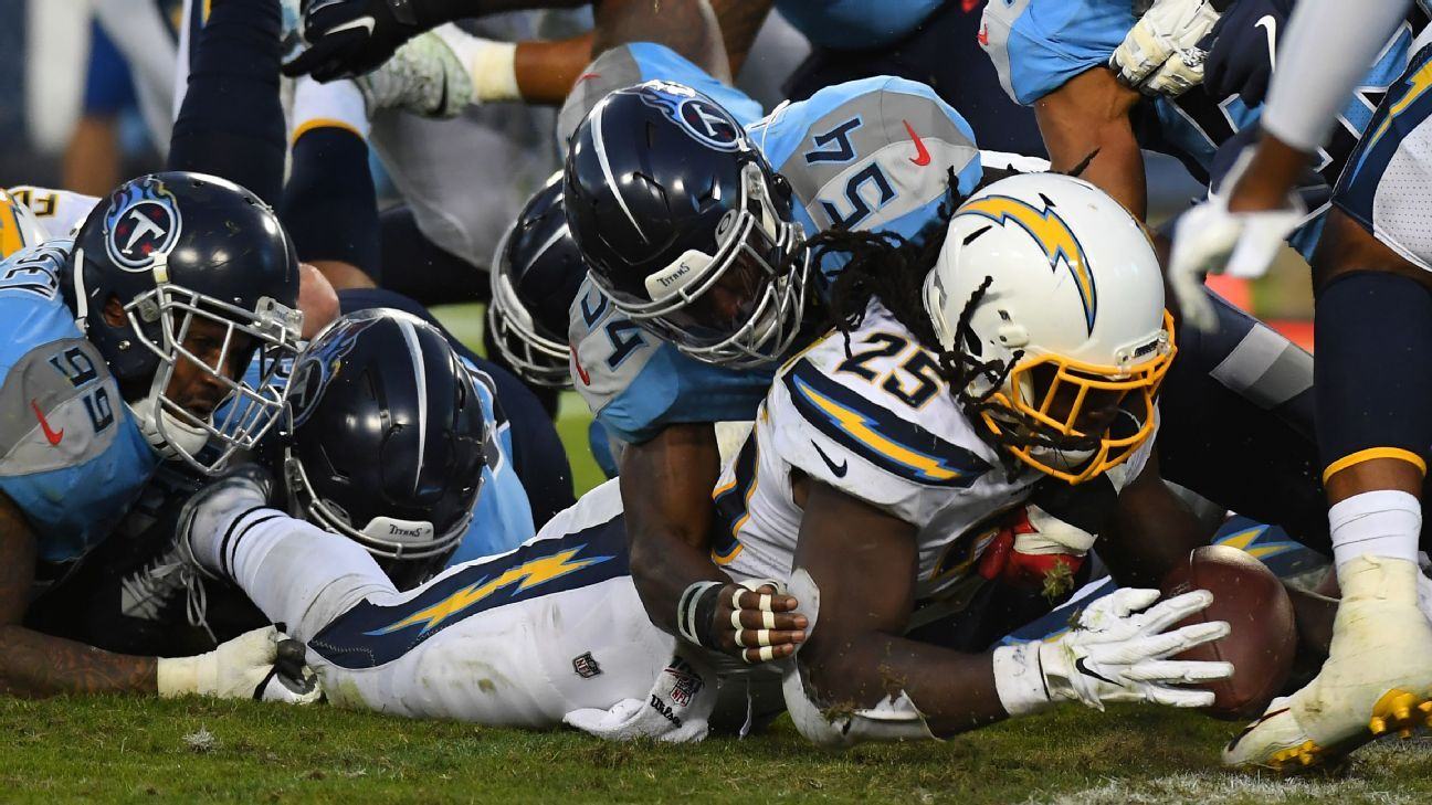 Chargers in disbelief over loss to Titans: 'On the field, we won it twice'