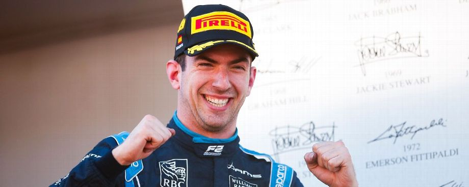 Williams candidate Nicholas Latifi set to replace Robert Kubica in Friday practices