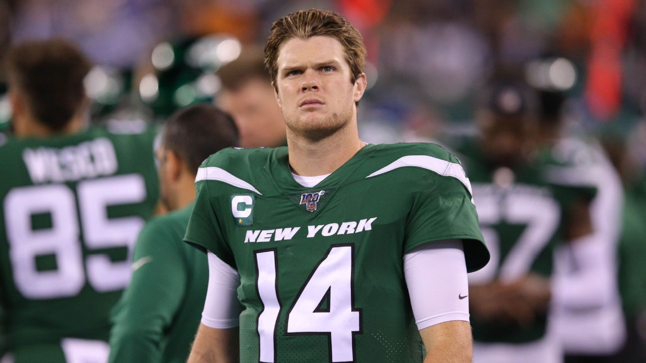 Jets fuming Sam Darnold's 'seeing ghosts' comment made air