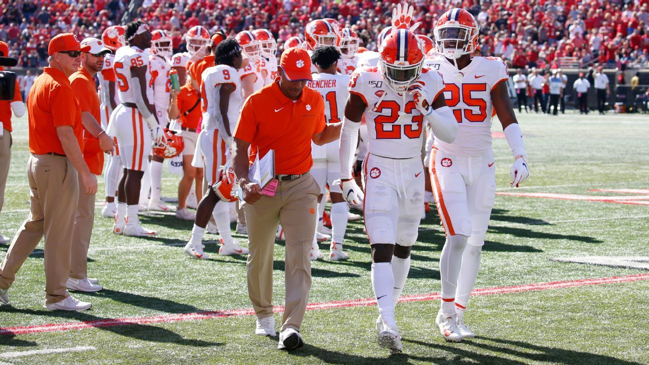 Clemson's Andrew Booth Jr. won't face further discipline for punching opponent