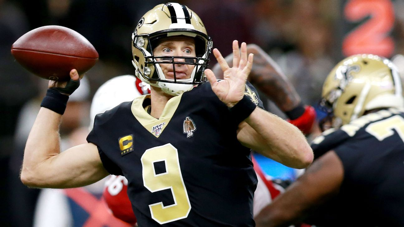 Week 8 NFL QB awards: Brees' magnificent return; Allen stymied by the Niners