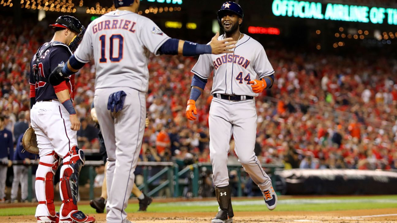 Yordan Alvarez and the Astros did not waste their chance to rake in Game 5