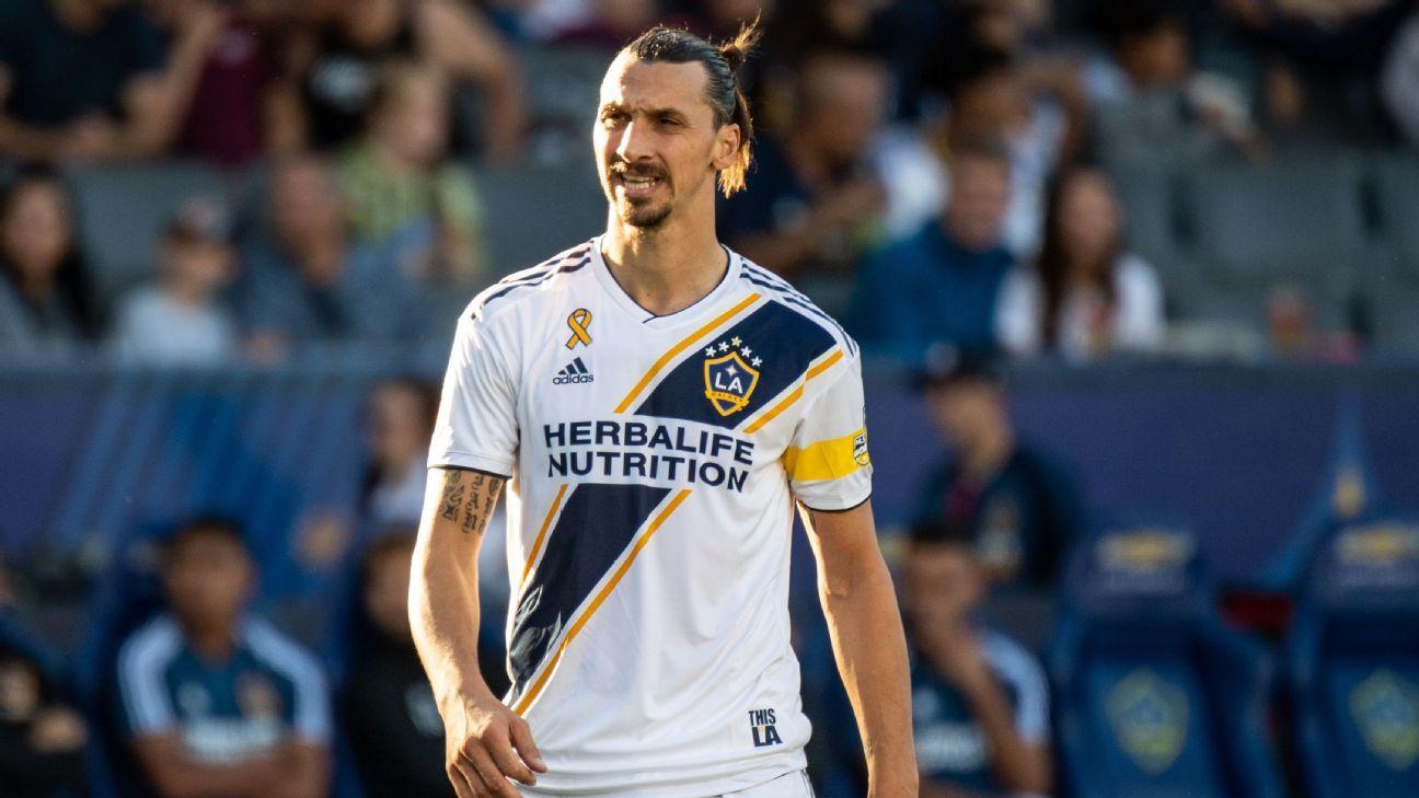 Zlatan Ibrahimovic, LA Galaxy part ways after two seasons