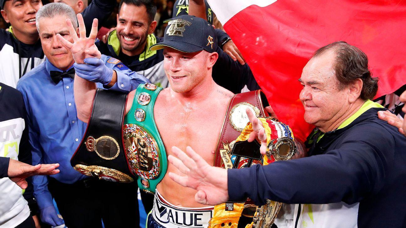 Rafael: Canelo is my No. 1 pound-for-pound boxer