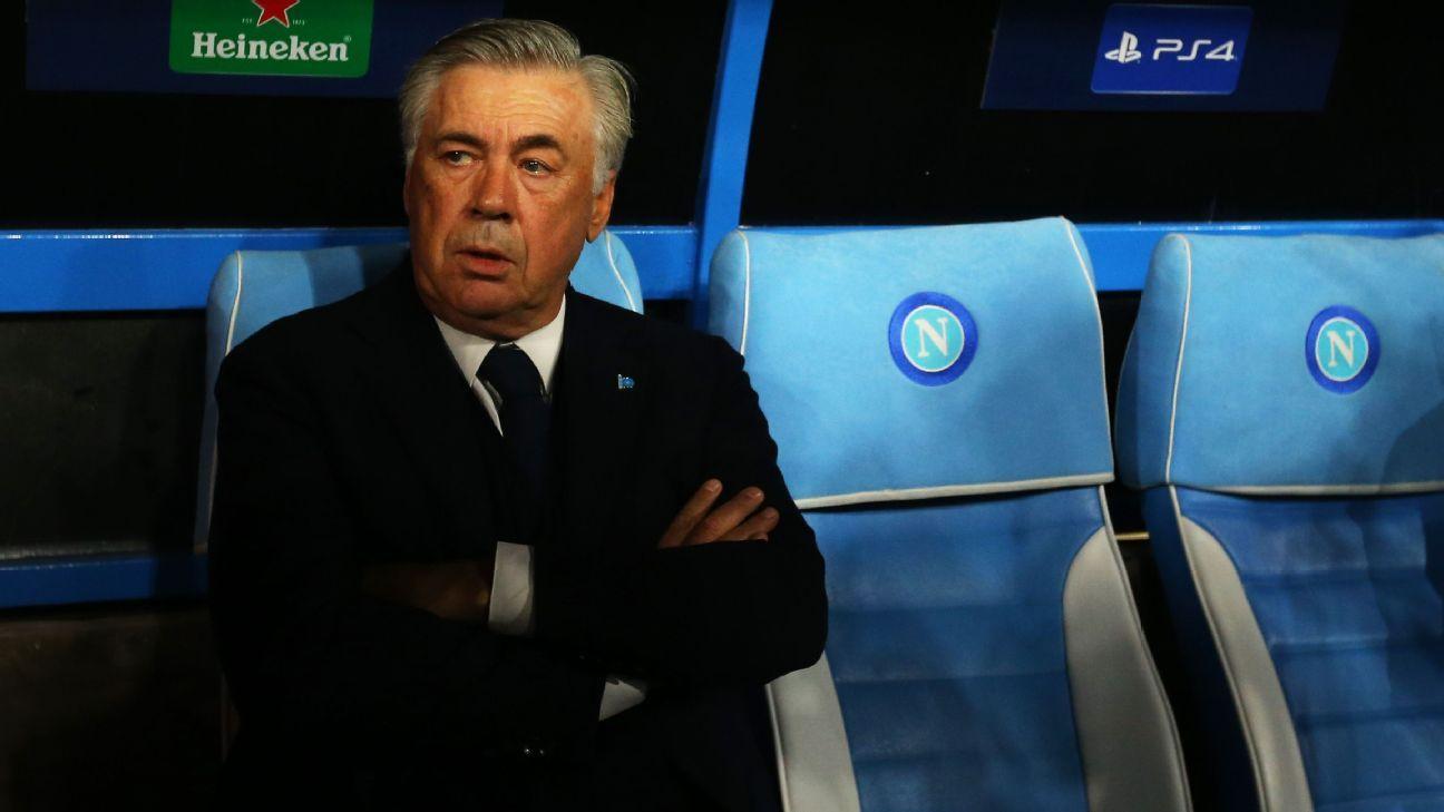 Carlo Ancelotti leaves Napoli despite spot in Champions League knockout stage