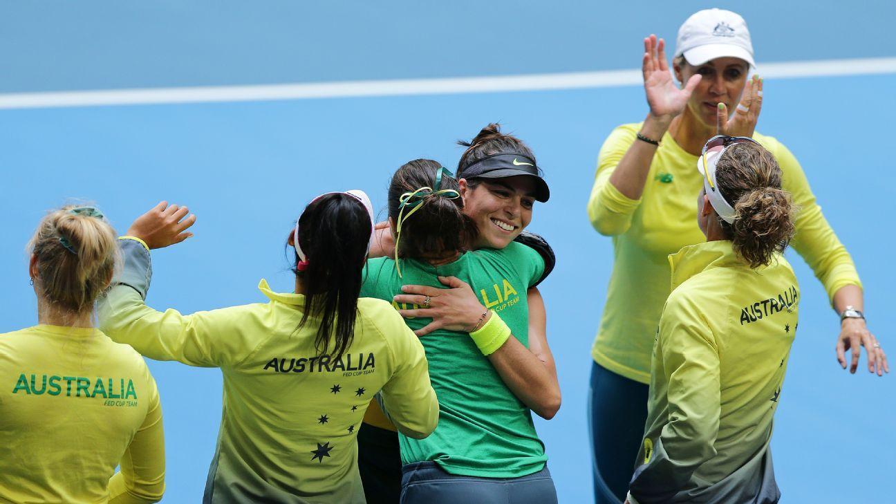 Redemption: Alja Tomjlanovic saves Australia's Fed Cup hopes