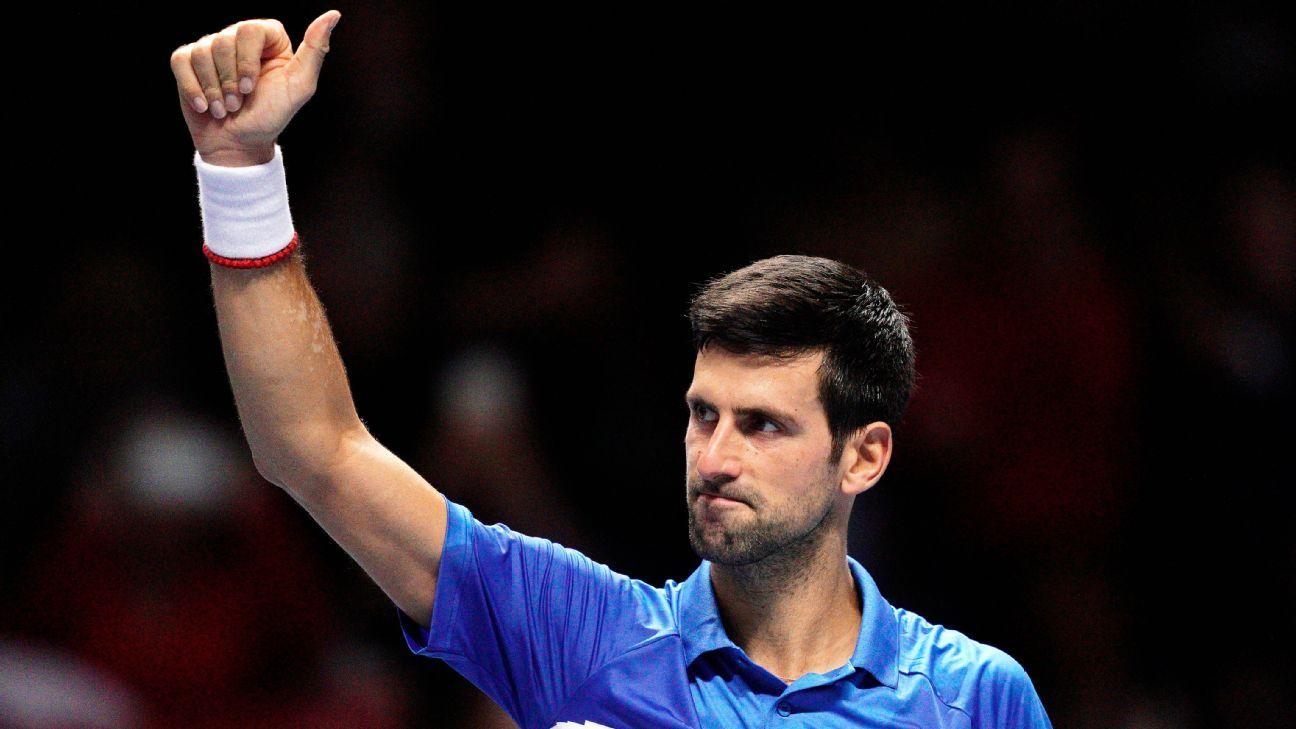 Djokovic leads Serbia into Davis Cup quarters