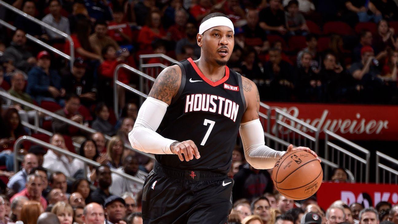 ¿Por qué Carmelo Anthony tiene la oportunidad para impulsar a los Blazers? - ESPN Deportes