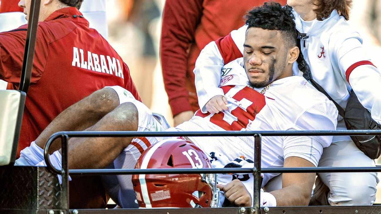 Sources: Tua season finished with dislocated hip