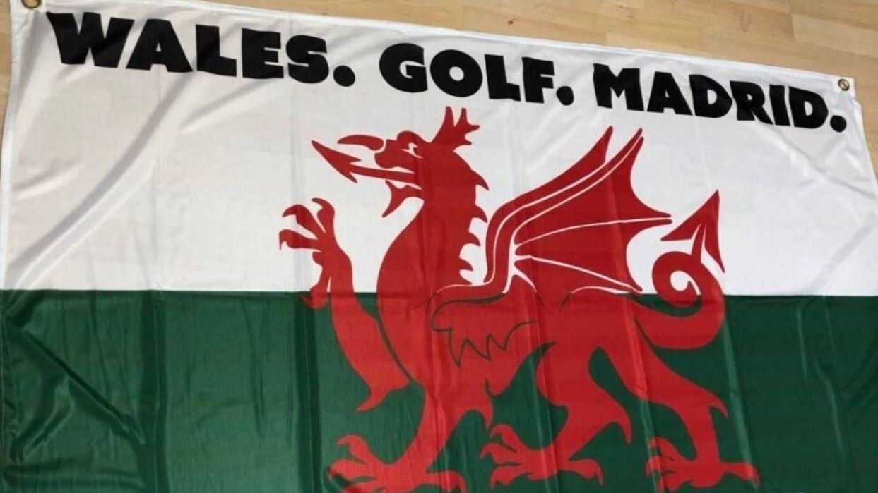 Bale approves of 'Wales, Golf, Madrid' chant