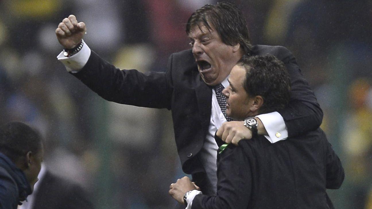 """Miguel Herrera """"festeja"""" la victoria de Kansas City en México - ESPN"""