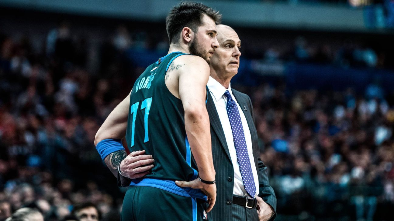 How Rick Carlisle learned to stop worrying and love Luka Doncic