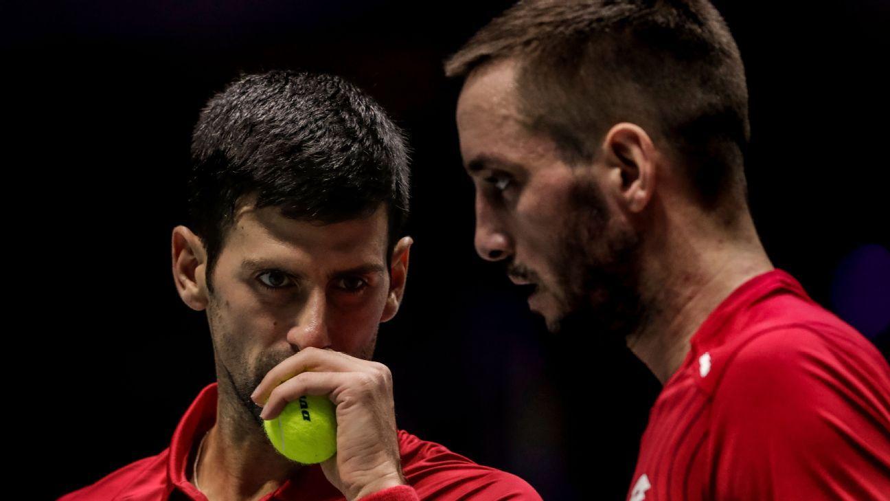 Russia drops Djokovic, Serbia to reach Cup semis