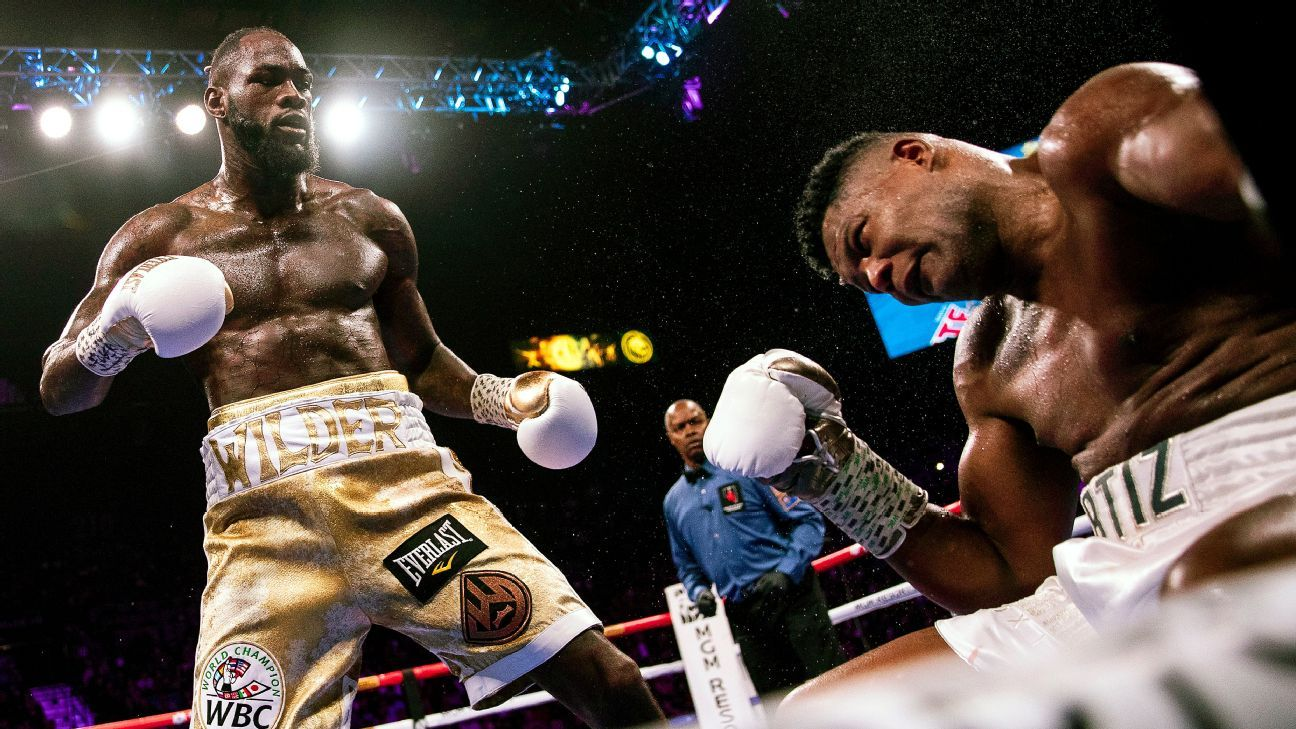 Sports and entertainment world reacts to Wilder's one-punch KO of Ortiz
