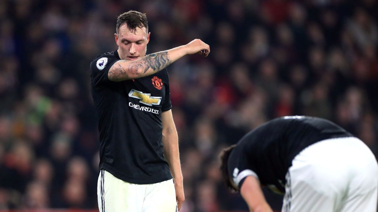 Manchester United's Phil Jones gets Twitter apology for UK post - sources - ESPN