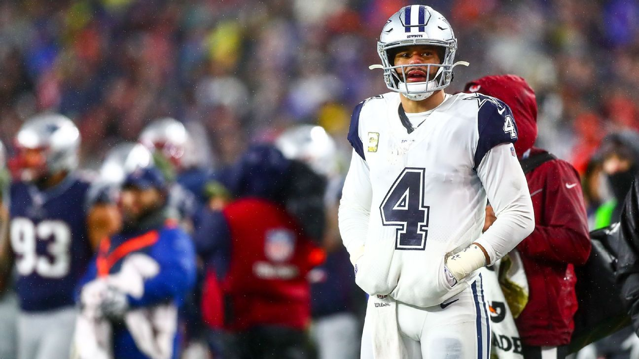 With offense stalling, Cowboys need Dak Prescott more than ever