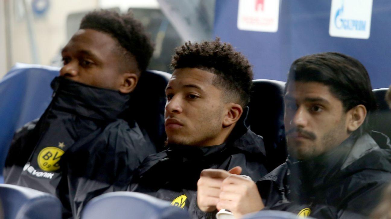 Transfer Talk: Jadon Sancho's Dortmund future up in the air after Champions League snub