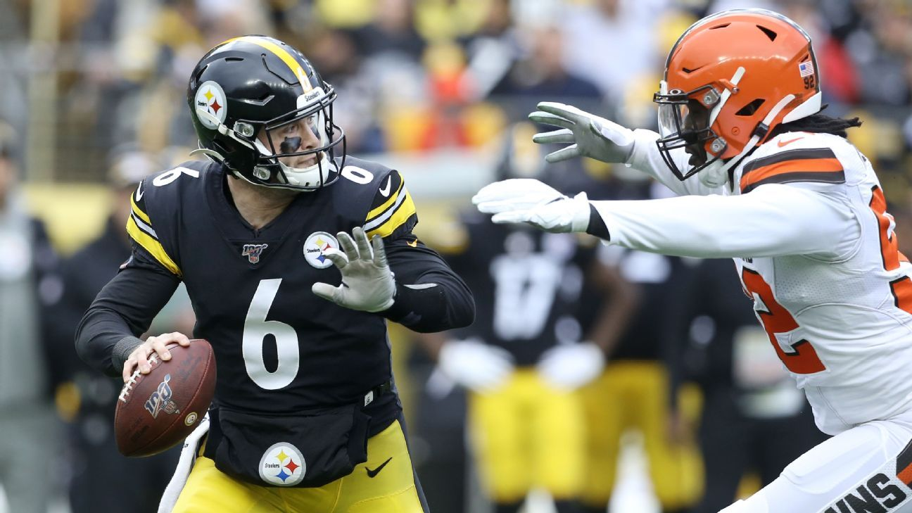 Steelers' playoff hopes still alive after beating Browns behind Duck Hodges