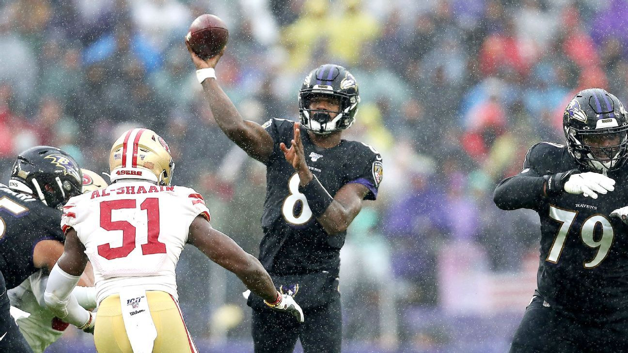 Lamar Jackson shows he can beat the best when not at his best