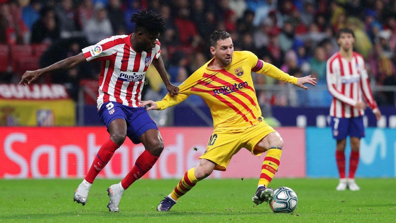 Atletico Madrid Vs Barcelona Football Match Report December 1 2019 Espn