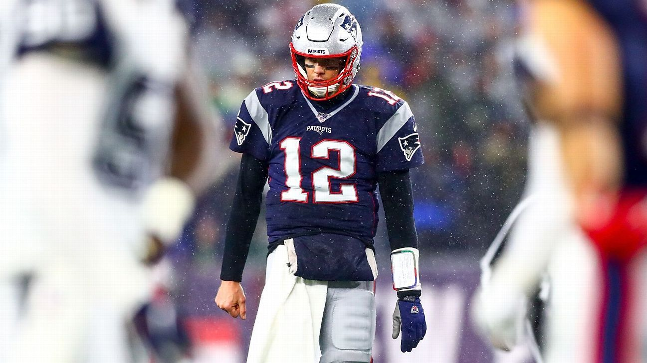 Tom Brady is showing signs of a decline. Is it real or another mirage?