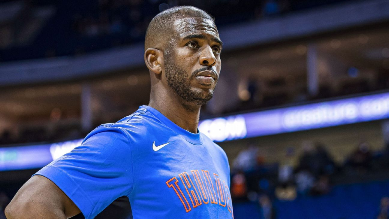 Emotional Chris Paul says NBA players needed to 'reset refocus' – ESPN