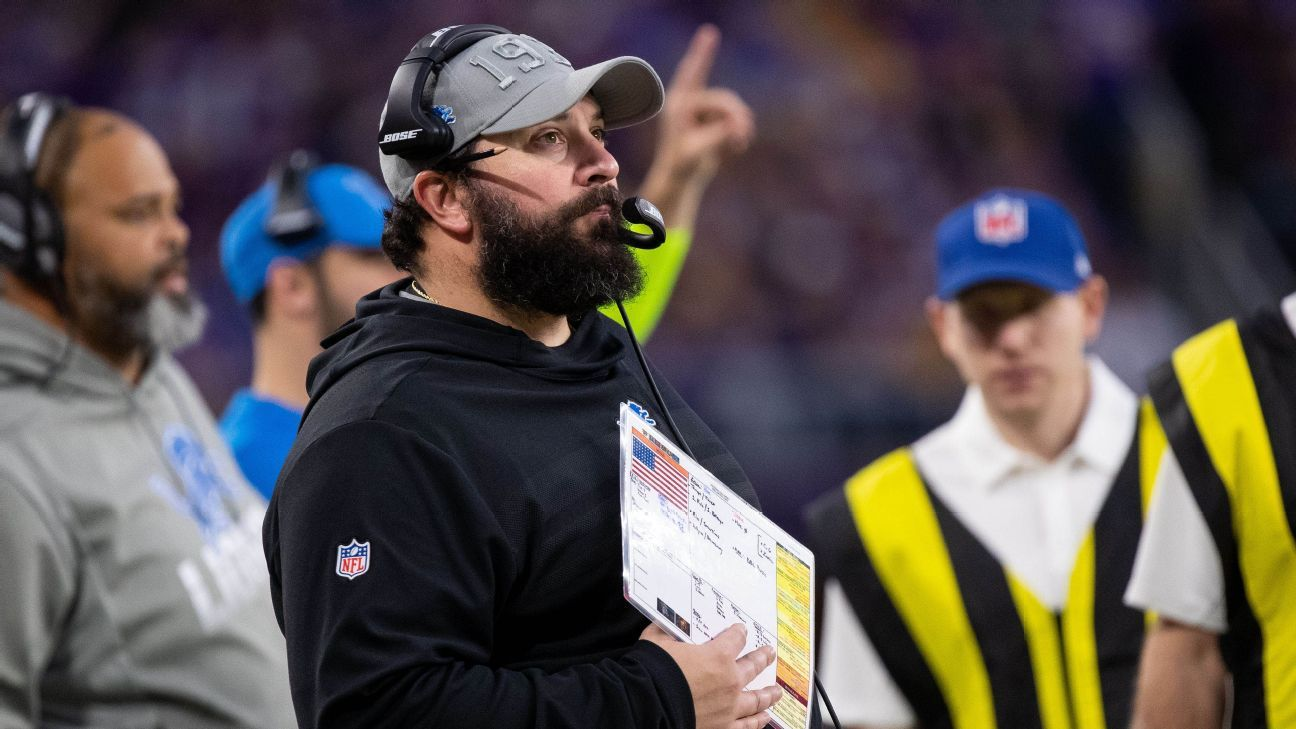 Matt Patricia says Lions are not their record; history might say otherwise