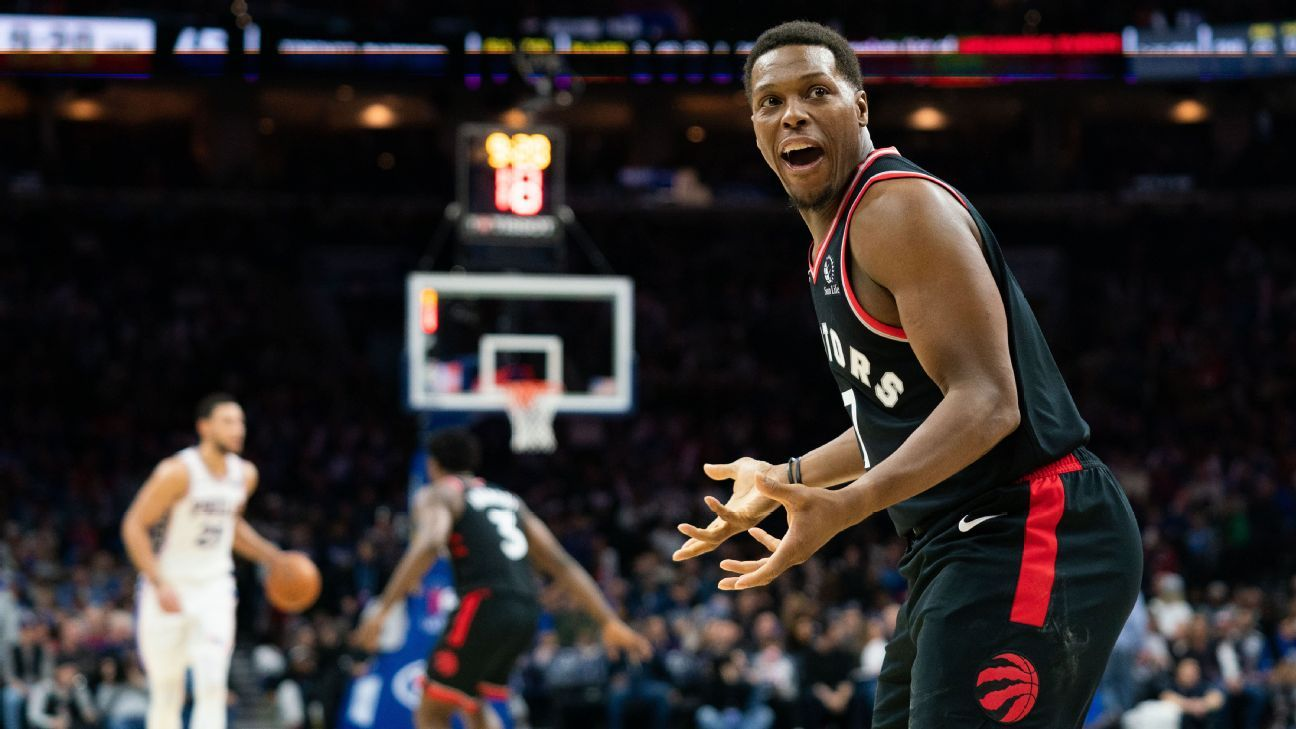 Kyle Lowry to heckler in native Philly: 'Come see me'