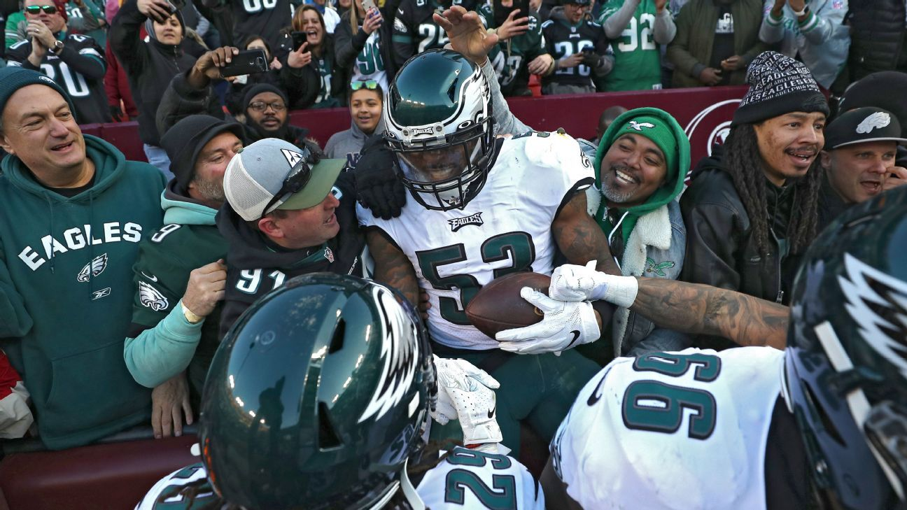 Bettors benefit from last-second touchdowns by Eagles, Falcons