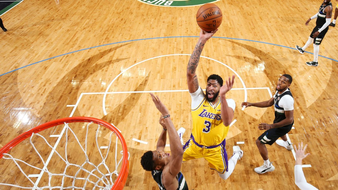 Lakers Anthony Davis On Dunk Contest That S Not Me