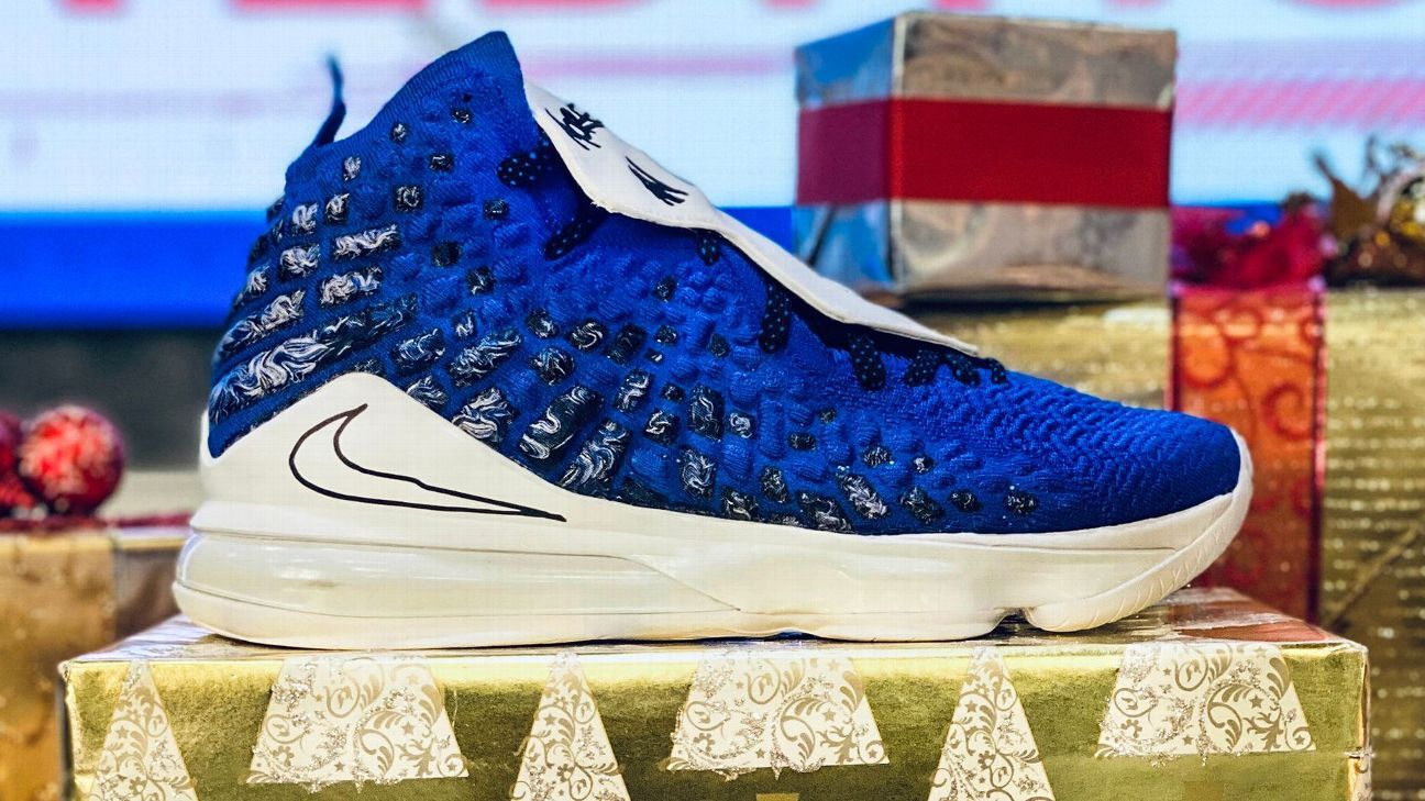 Lebron Christmas Shoes 2020 The sneakers NBA stars will be wearing on Christmas Day
