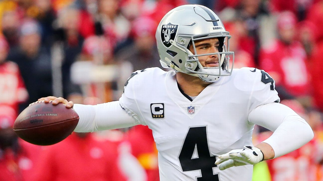 Derek Carr said he was confident the Raiders would not draft his replacement this offseason, but it didn't stop the speculation from getting under his skin.