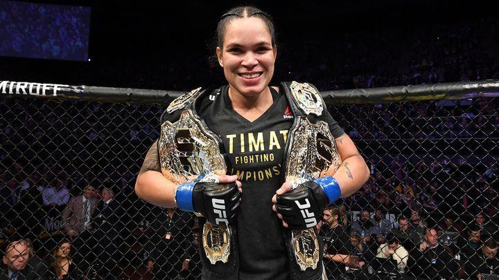 Amanda Nunes shines brightest among stars of UFC