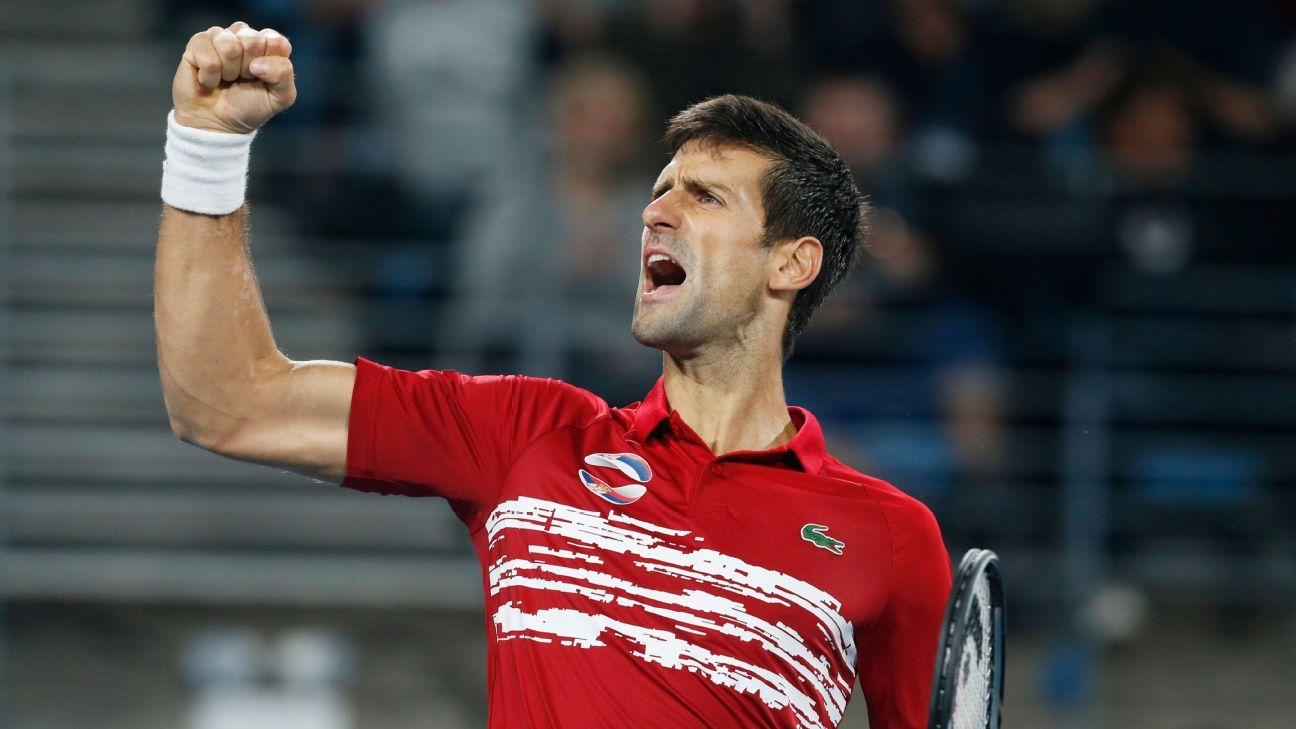 Novak Djokovic: Younger generation 'closer and closer' to Grand Slam titles