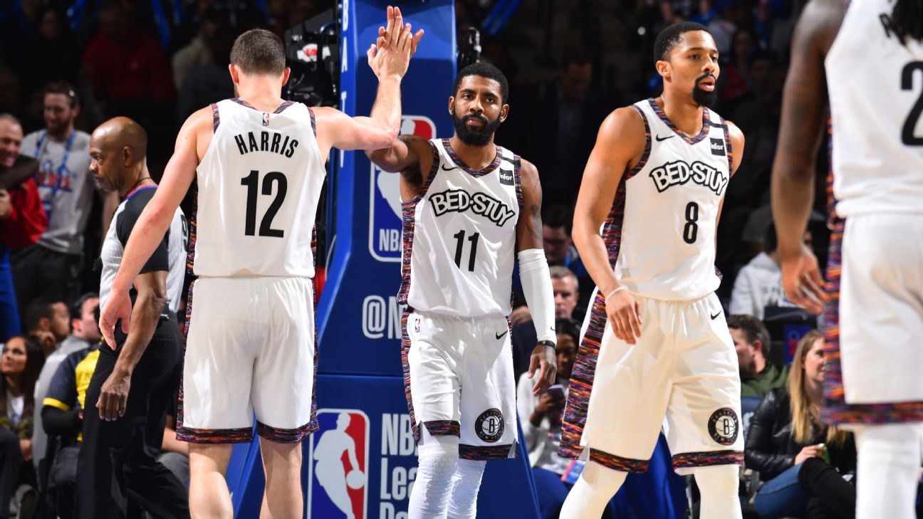 Kyrie Irving talked to teammates after listing pillars of Nets' future