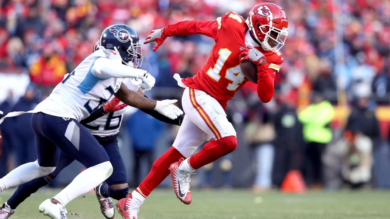 Chiefs signed Sammy Watkins to deliver in moments like AFC title game
