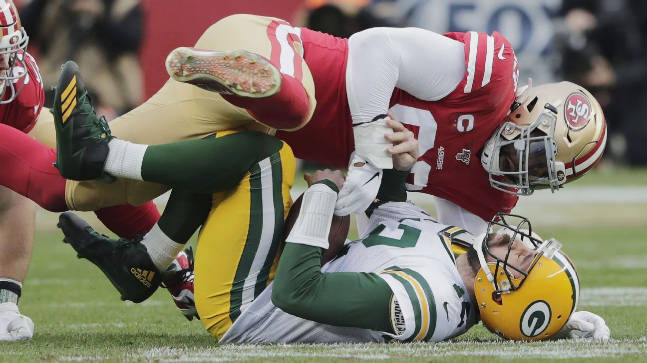 49ers' suffocating defense back to form in time for Super Bowl test
